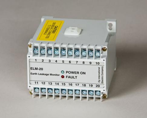 IECO - DC Earth Leakage Monitors/Ground Fault Monitors